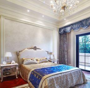 新古典別墅臥室裝修設計效果圖大全-每日推薦