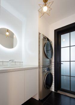 簡約新房裝修室內洗手臺設計圖片