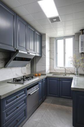 廚房櫥柜顏色搭配圖片 廚房吊柜圖片