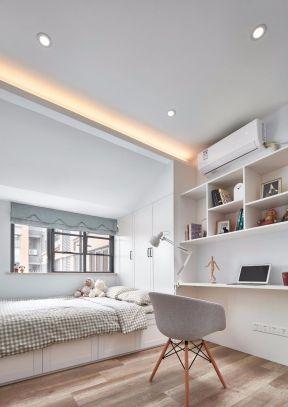 書房臥室一體效果圖 書房臥室一體裝修 書房臥室裝修圖 書房臥室一體圖片