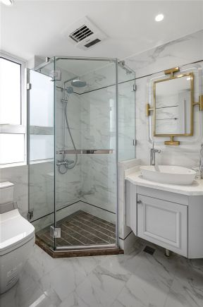 衛生間淋浴房設計圖 衛生間洗手臺設計