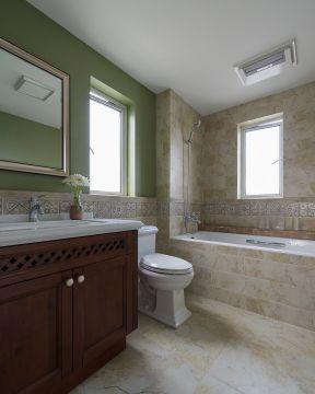 美式衛生間裝修效果圖大全圖片 美式衛生間裝修風格 美式衛生間裝修圖