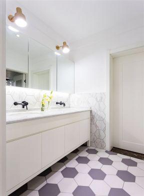洗手臺裝修圖 洗手臺鏡前燈圖片