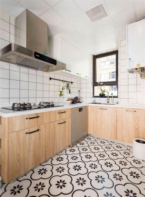 北歐廚房裝修圖 北歐廚房裝修圖片 廚房地磚圖片