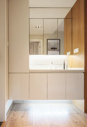 洗手臺裝修效果圖 洗手臺裝飾設計效果圖 洗手臺裝修圖