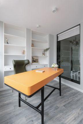 書房書桌裝修效果圖 新房書房裝飾設計