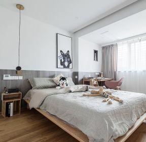 北欧风格新房装修卧室木地板图片-每日推荐