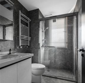 現代簡約新房裝修衛生間隔斷設計圖-每日推薦