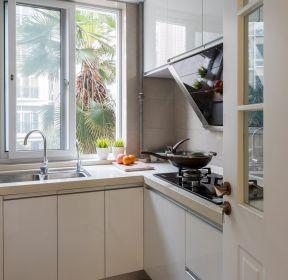 88平新房廚房轉角櫥柜設計效果圖-每日推薦