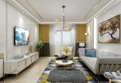 【美頌雅庭裝飾】簡約風二居室90平米裝修效果圖
