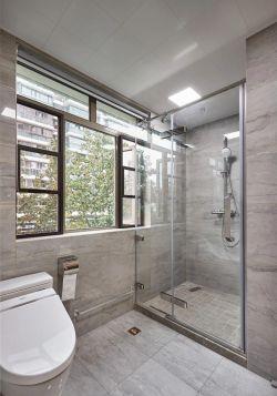 132平大戶型新房衛生間隔斷裝修效果圖