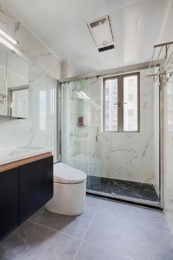 130平新房衛生間隔斷裝修效果圖片