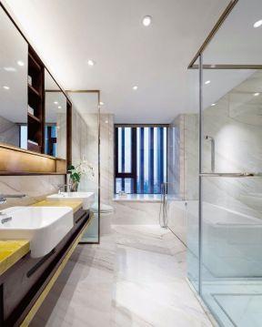 衛生間玻璃隔斷效果圖 衛生間玻璃隔斷墻 衛生間玻璃隔斷墻設計圖