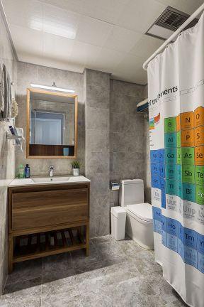 小戶型衛生間裝修圖片 衛生間浴簾裝修效果圖