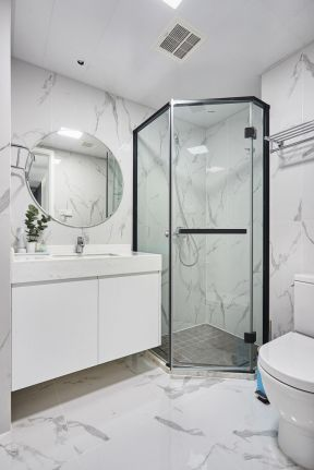 衛生間設計效果圖 衛生間淋浴房效果圖片