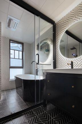 衛生間玻璃隔斷裝修效果圖 衛生間玻璃隔斷圖片