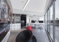 東莞科技公司辦公室裝修設計圖