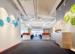 東莞辦公室形象墻裝修設計效果圖片