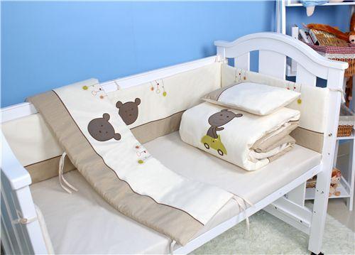 婴儿床上四件套