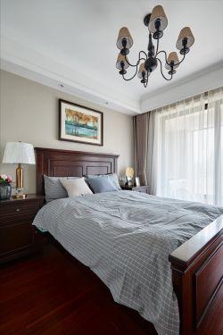 美式風格臥室燈具裝修裝潢效果圖