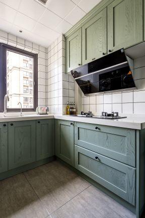 美式廚房裝修圖片   美式廚房效果圖 美式廚房裝修效果圖片