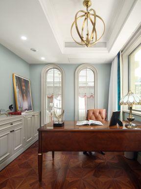美式書房裝修設計 美式別墅書房裝修效果圖