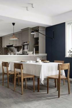 北歐風格餐廳壁燈裝修設計圖片2020