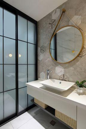 衛生間洗手臺設計 衛生間墻面效果圖