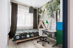 北歐臥室壁紙效果圖 北歐臥室裝修效果圖