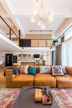 復式樓客廳裝修效果圖欣賞 復式樓客廳設計圖