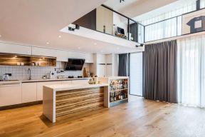 开放式厨房设计效果图 开放式厨房装饰效果图 开放式厨房装饰图