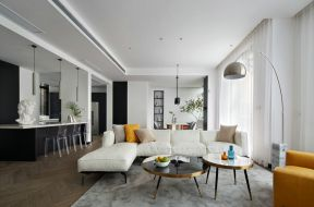 白色沙发图片 北欧客厅装修效果图欣赏