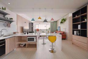 厨房餐厅一体的效果图 厨房餐厅一体装修图