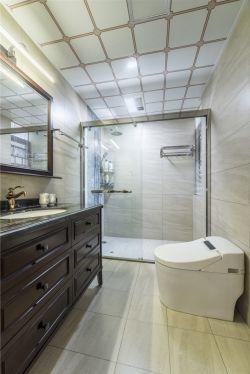 美式風格新房衛生間天花板裝修效果圖