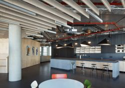 公司辦公室茶水間吊頂裝修設計圖