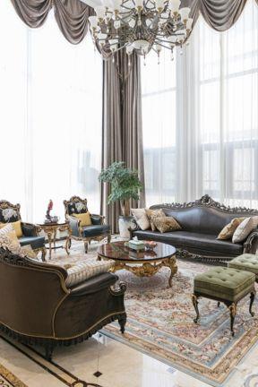 美式別墅客廳裝修效果圖欣賞 美式別墅客廳裝修