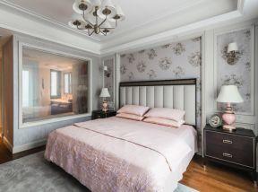 美式臥室背景墻裝飾 美式臥室背景墻裝修效果圖