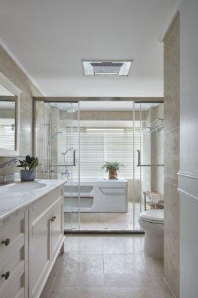 大戶型衛生間裝修 美式衛生間裝修風格 美式衛生間裝修效果圖片