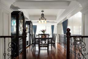 美式別墅餐廳 美式餐廳裝修設計 美式餐廳裝修圖