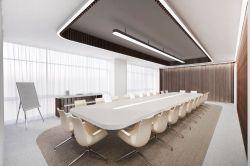 金融公司大會議室裝修設計實景圖