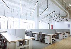 辦公室辦公桌隔斷設計裝修效果圖片大全