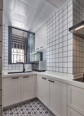 廚房墻磚裝修效果圖大全 北歐廚房裝修風格圖片