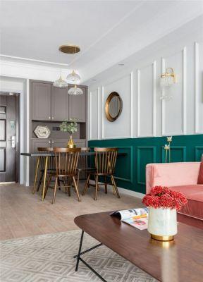 护墙板装修设计图片 护墙板形象墙 轻奢风格家具图片