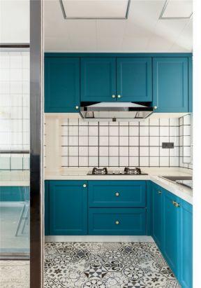 北歐廚房裝修 北歐廚房裝修風格 u型廚房設計效果圖
