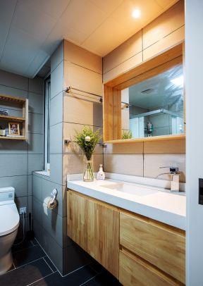 卫生间洗漱台效果图 卫生间洗漱台装修效果图