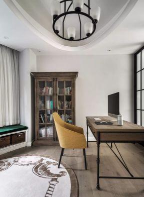 美式書房裝修 美式書房裝修設計 書房書柜的設計