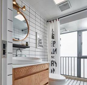 80平北歐風格衛浴間裝修設計圖-每日推薦