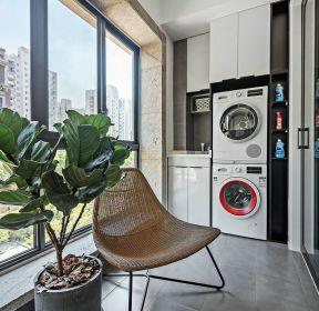 北歐風格四居室陽臺裝修設計效果圖片-每日推薦