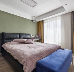 134平新房四居室臥室床尾凳裝修效果圖片-每日推薦
