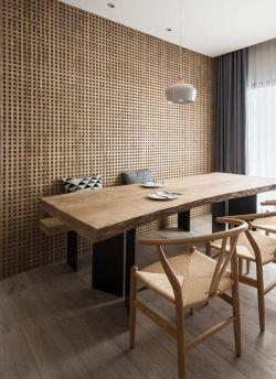 110平方新房餐廳背景墻創意裝修效果圖